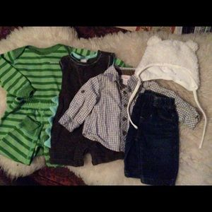 14 Piece Lot of Boy Clothes (Patagonia, GAP, More)